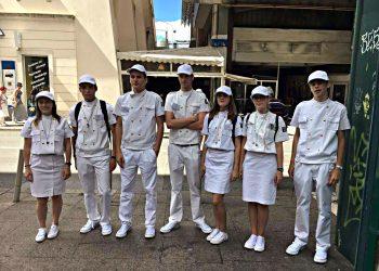 Bijela patrola na ulicama Rijeke
