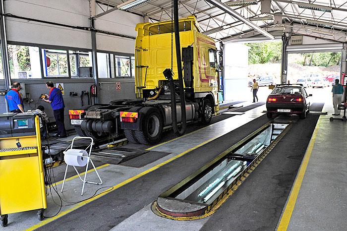 Stanica za tehnički pregled vozila na Preluku