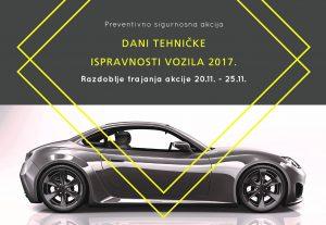 Dani tehničke ispravnosti vozila 2017