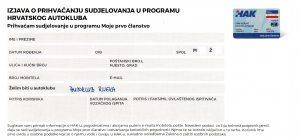 Prvo HAK članstvo Autoklub Rijeka