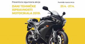 Dani tehničke ispravnosti motocikala 2019