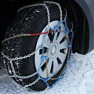 Zimska vožnja s lancima
