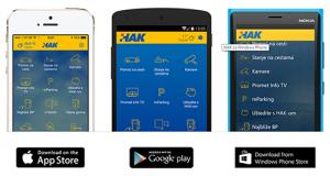 HAK aplikacija za članove