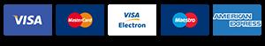 Račun je moguće platiti svim vrstama plaćanja uključujući sve vrste debitnih i kreditnih kartica.